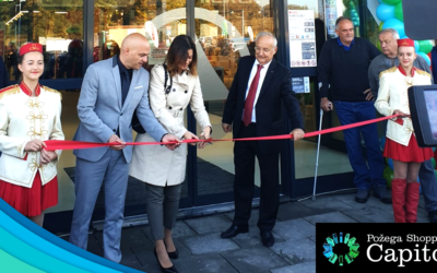 Pozega Shopping Capitol today welcomes its first visitors
