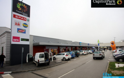 Capitol Park Križevci opens BIPA and TEDi stores